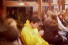 Man in Yellow (ollazarev) Tags: leicam3 leica summicron night kodak kodakfilm