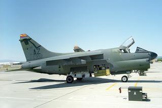 75-0392 LTV A-7D Corsair II United States Air Force