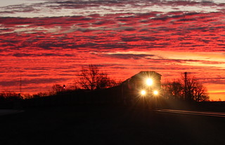 Twilight Coal Train
