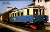 DE-94526 Metten Bahnhof Regentalbahn Triebwagen VT12 im Mai 1982 (Joerg Seidel) Tags: dia ragmetten1982 metten deggendorf mettenerbockerl regentalbahn rag triebwagen bayern bayerischerwald zug eisenbahn dessau dessauerwaggonfabrik nebenbahn bahnhof
