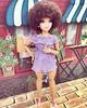 SlayinQueen👑💜💜💜 (nikkadee) Tags: mattel barbiefashionista ooakdolls reroot madetomovedolls afro curvydolls curvymyscene nia myscene