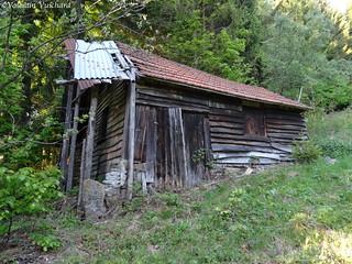 SF_DSC03455 - Switzerland, Gruyère region - Old hunter's hut..