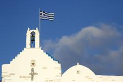Parikia (olivier.ghettem) Tags: paros parikia cyclades greece grèce europe europedusud architecture agioskonstantinos église églisegrecque religion church drapeaugrec