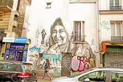 Paris (kirstiecat) Tags: paris art streetart women strangers feel urban city france europe travel cinematic