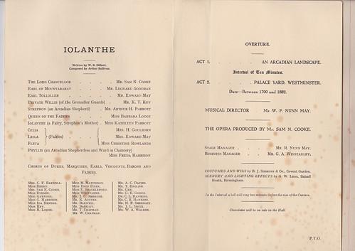 1923: Jan Programme 2