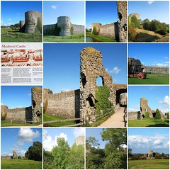 Pevensey Castle - With a History Stretching Back Over 16 Centuries! (antonychammond) Tags: fdsflickrtoys pevensey pevenseycastle romans anglosaxons normans williamtheconqueror medievalcastle eastsussex normanconquest anticando the galaxy contactgroups castlespalacesmanorhousesstatelyhomescottages photosandcalendar
