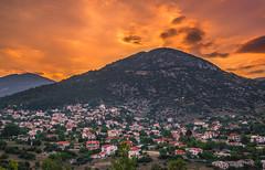 My village at sunset (Vagelis Pikoulas) Tags: sun sunset village villagescape vilia greece canon 6d tokina 2470mm view landscape sky summer sundown 2018