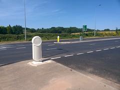 Rebound Signmaster™ Bollard (Glasdon UK) Tags: glasdon glasdonuk reboundsignmaster bollard passivelysafe signface urban highway nonilluminated road safety highways