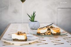 Cretan Cheesecake with honey (Bazil Van Sinner) Tags: cretan cheesecake chef sweets pastry sugar honey chania crete greece foodphotography bazilvansinner bvs bazilvansinnerphotography nikon nikond5200 nikongreece portfolio
