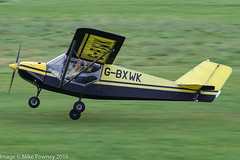 G-BXWK - 1998 build Rans S6-ES Coyote II, departing from Runway 26L at Barton, part of the LAA 70th Anniversary Tour (egcc) Tags: barton cityairport coyote coyoteii egcb gbxwk homebuilt laa70thanniversarytour lightroom manchester microlight rans s6 s6esa taylor whiting