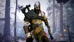 Hello old friend (kevchan1103) Tags: neca god war blades chaos mod kratos ps4 godofwar toys action figures custom