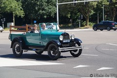 1929 Ford A Pick-Up (NielsdeWit) Tags: nielsdewit am0156 driving ford a aford pickup pick up cabriolet convertible ede