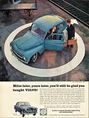 1960 Volvo PV 544 & 122 S (aldenjewell) Tags: 1960 volvo pv 544 two door sedan 122s four ad
