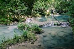 Urederra IV (sampler1977) Tags: urederra navarra nafarroa agua roca rio riviere bleu blue azul nature landscape watterscape naturaleza senderismo hikking