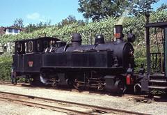 CP E151-Amarante, Portugal, 1972 (filhodaCP) Tags: carvão narrowgauge museuferroviário tâmega comboiosdeportugal comboioavapor cp metergauge viaestreita linhadotâmega ferroviário steamlocomotive