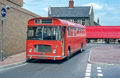 Eastern Counties RL516 (EPW516K) Peterborough June 1984 (BristolRE2007) Tags: easterncounties ecw easterncoachworks nbc nationalbuscompany bristolre bus