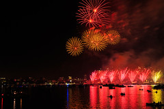 Boston, 4th July 2018 (chris_brearley) Tags: 4july backbay boats boston celebration charlesriver citgo fenway fireworks independenceday july4 kayaks prudential river
