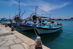 Fishingboats (Steenjep) Tags: cypern cyprus zypern ferie holiday rejse travel harbour port beach sea sun