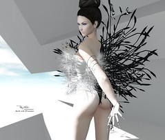 """Are you being true to yourself? (Roy Mildor - I am how I am !) Tags: roymildor rmartofposes female3 posehud posefair animation posing pose art"