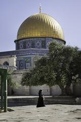 Dome ef the Rock. Temple Mount. Jerusalem. (Raúl Barrero fotografía) Tags: jerusalem templemount dome rock golden