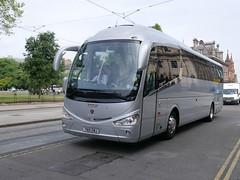 Ratho Coaches of Newbridge Scania K360IB4 Irizar i6 YN15EMJ at St Andrew Square, Edinburgh, on 26 June 2018. (Robin Dickson 1) Tags: busesedinburgh yn15emj rathocoachesofnewbridge irizari6 scaniak360ib4