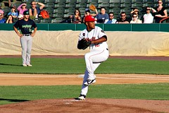 FELIPE TEJADA (MIKECNY) Tags: pitch pitcher mound tricityvalleycats minorleague nypennleague astros baseball
