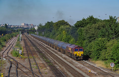 66098 At Beeston. 03/07/2018. (briandean2) Tags: 66098 beeston nottingham nottinghamshire railways ukrailways ukfreighttrains