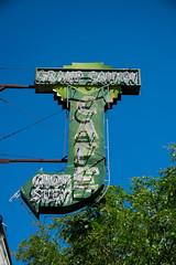 Grand Canyon Cafe (benakersphoto) Tags: sign signs vintage route66 america nikon nikkor arizona arizonatowns flagstaffarizona flagstaff grandcanyoncafe