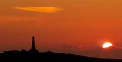 Carn Brea sunset (explored 15/07/18) (Dom Haughton) Tags: canoneos70d carnbrea canon cornwall kernow sunset evening summer july silhouette