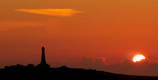 Carn Brea sunset (explored 15/07/18)
