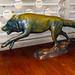 Minnesotta Zoo 12-20-2014 - Gray Wolf Statue