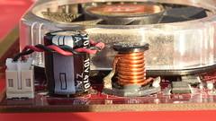 Graphics Card Components (rq uk) Tags: rquk nikon d750 insideelectronics graphicscard parkinglot macro micro macromonday nikond750 afnikkor50mmf18d manuallensorextensiontubes nikonextensionringpk13275