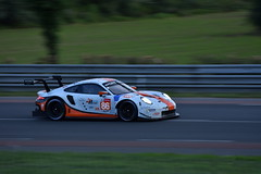 #86 Gulf Racing Porsche 911 RSR (ant.leger) Tags: 86 gulf racing porsche 911 rsr voiture car course race endurance wec 24h le mans motorsport gte am lmgte