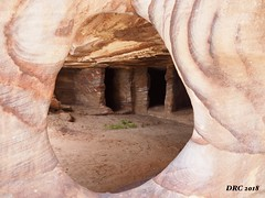 Weather Pink Sandstone of Petra (DRC - THANKS!! over 2.9 Million Views) Tags: petra jordan weathered pink sandstone ancient ruins colorful