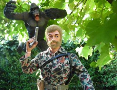 I hear them too (lonejim) Tags: lonejim actionman gijoe palitoy hasbro gorilla jungle