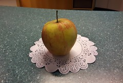 At my work (an art istitute, of course) (Elisa1880) Tags: work rkd appel apple art kunst