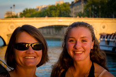 More sunset pictures along with Seine river in Paris.