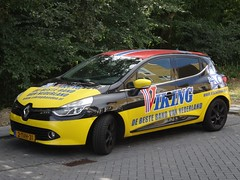 """2014 Renault Clio """"Viking Banden"""" (harry_nl) Tags: netherlands nederland 2018 utrecht renault clio viking banden 2tvh31 sidecode8"""