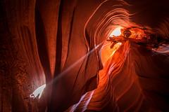 Upper Antelope Canyon Light Beams & Ghosts Fine Art Landscape Nature Photography! Elliot McGucken Page Arizona Slot Canyons Art! Red Sandstone Antelope Slot Canyons! Nikon D810 & Nikon AF-S NIKKOR 14-24mm f/2.8G ED Lens! (45SURF Hero's Odyssey Mythology Landscapes & Godde) Tags: upper antelope canyon light beams ghosts fine art landscape nature photography elliot mcgucken page arizona slot canyons red sandstone clot nikon d800 e afs nikkor 1424mm f28g ed lens d810