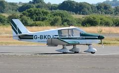 G-BKDJ (goweravig) Tags: gbkdj visiting aircraft swanseaairport swansea wales uk robin dauphin dauphin80