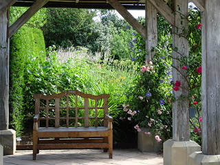 A place to sit at Harlow Carr