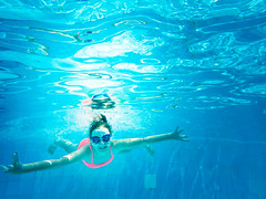 pooltime-2 (lermaniac) Tags: red pool swimingpool girl outdoors teen water countryclub underwater child blue dive
