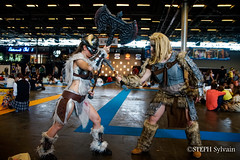 Japan Expo 2018 1erjour-115 (Flashouilleur Fou) Tags: japan expo 2018 parc des expositions de parisnord villepinte cosplay cospleurs cosplayeuses cosplayers française français européen européenne deguisement costumes montage effet speciaux fx flashouilleurfou flashouilleur fou manga manhwa animes animations oav ova bd comics marvel dc image valiant disney warner bros 20th century fox féee princesse princess sailor moon sailormoon worrior steampunk demon oni monster montre