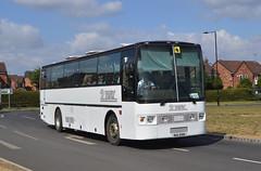 RIA 5991: Burlinson t/a 2 Way, Scunthorpe (originally A190 MNE) (chucklebuster) Tags: via5991 smiths burlinson 2way transport volvo b10m van hool alizee a190mne
