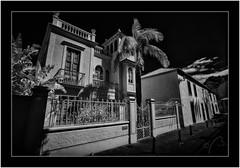 La Palma Sony A7 IR, Nikkor 18mm/3.5 (Bartonio) Tags: 720nm architecture bw blanconegro canaryislands infrared ir islascanarias lapalma modified monochrome nikkor18mm35 santacruzdelapalma sonya7ir