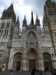 Another perspective of one of many churches in Rouen
