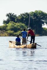 Mokoro (C McCann) Tags: mokro chobe river namibia botswana africa boat people outdoor paddling paddle