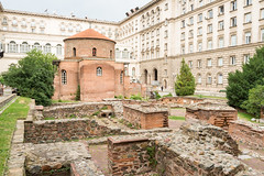 AFS-2017-05763 (Alex Segre) Tags: capital city cities exterior outside outdoors outdoor serdica stgeorgerotunda roman archaeological site sites remains urban scene scenes famous landmark landmarks history ancient historic building buildings architecture church sofia bulgaria bulgarian easterneurope easterneuropean nobody travel in a alexsegre