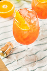 Alcoholic Aperol Spritz with Champagne (brent.hofacker) Tags: alcohol alcoholic aperitif aperol aperolspritz background bar beverage cocktail cold delicious drink food fresh fruit glass holiday ice italian italy juice mix mixed orange party prosecco refreshment restaurant slice soda sparkling spritz summer sweet trend water wine winespritz winespritzer wineglass