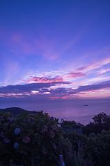 P7214596 (kunmorita) Tags: star 星 海 空 夜空 夜間撮影 sea sky night 夕焼け マジックアワー magic hour 黄昏